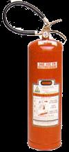 Extintor de água pressurizada pressão permanente